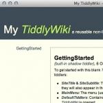 My TiddlyWiki